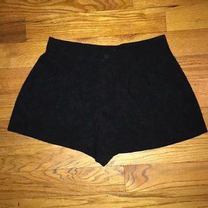 Free People Jacquard Shorts